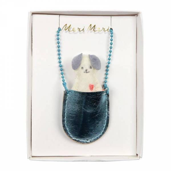 Halskette Hund - Dog Pocket Necklace