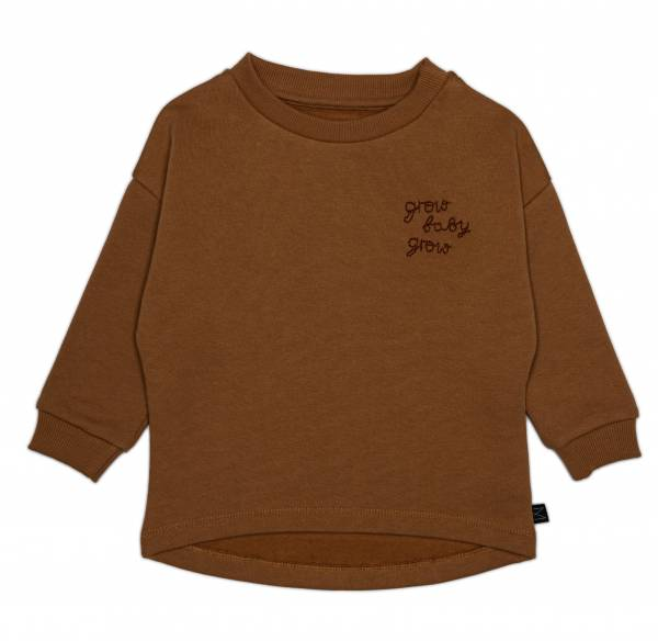 Sweatshirt Grow brown