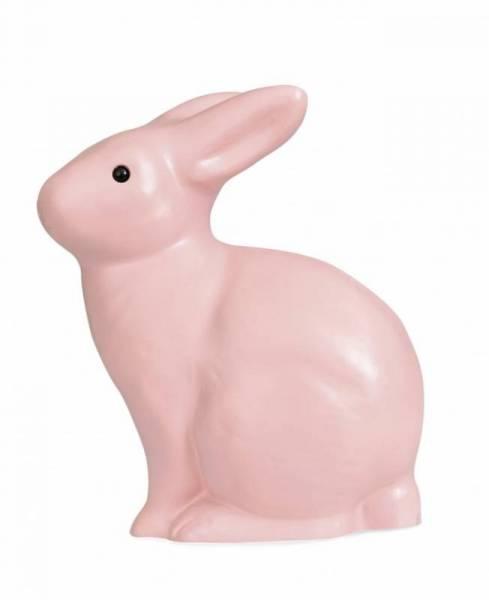 Leuchte / Nachtlicht Hase - vintage Pink