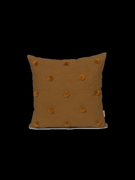 Kissen Dot Tufted Cushion Sugar Kelp/Mustard