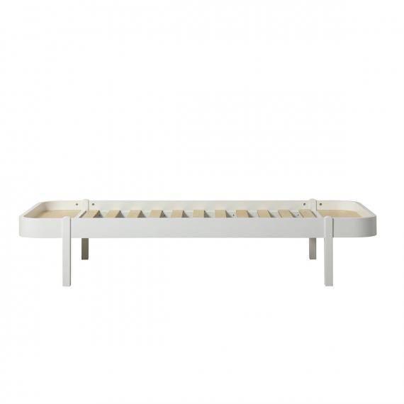 Wood Bett Lounger weiß - 90x200