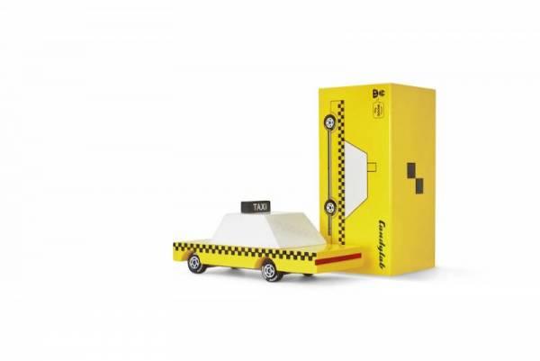 Holzauto - Candycars - Yellow Taxi