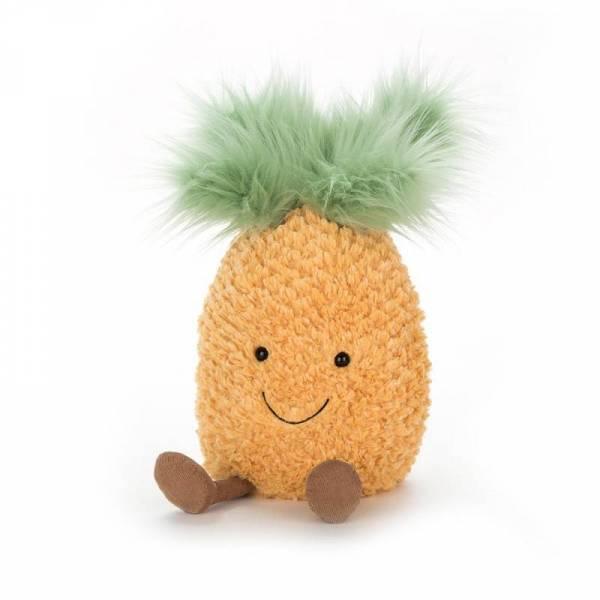 Stofftier Ananas Amuseable Pineapple - H25cm - gelb