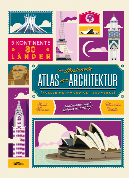 Kinderbuch Der illustrierte Atlas der Architektur