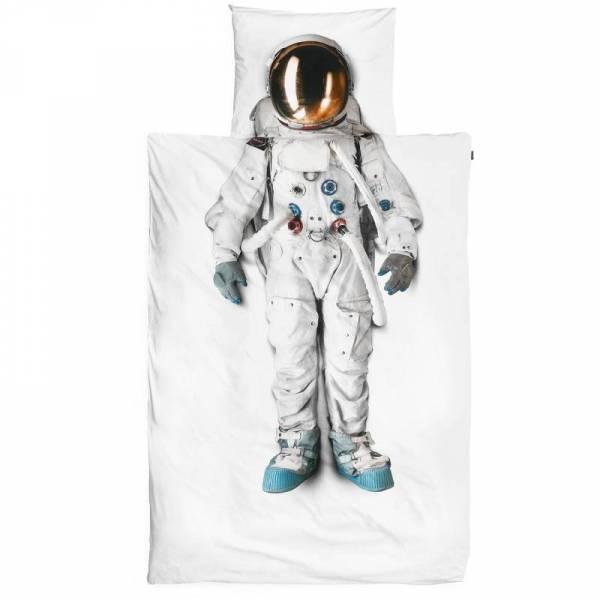 Kinder-Bettwäscheset Astronaut 135 x 200 cm, inkl. 1 Kissenbezug 80 x 80 cm