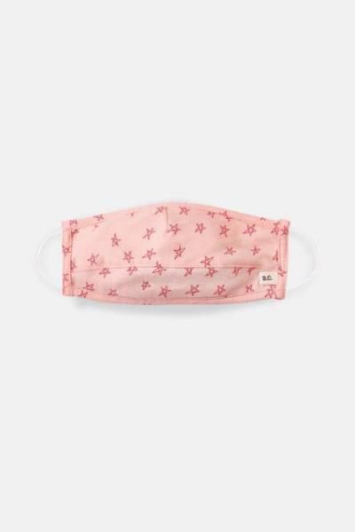 Hygienemaske Sternchen pink 10-12 y