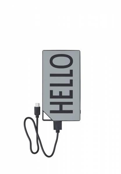 Powerbank HELLO - grey