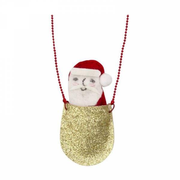 Halskette - Santa in der Tasche