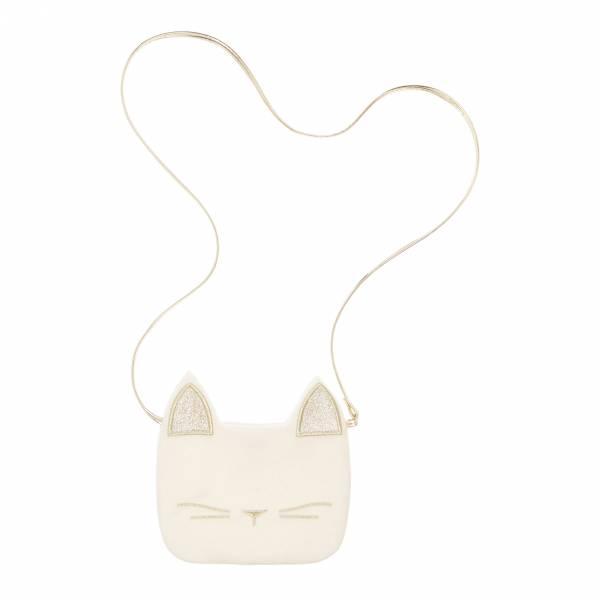 CUTE CAT Umhängetasche - Ivory