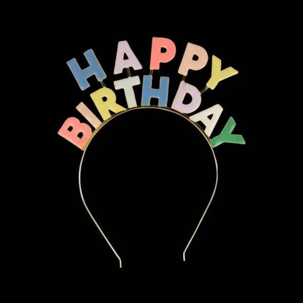 "Kopfschmuck ""Happy Birthday"""
