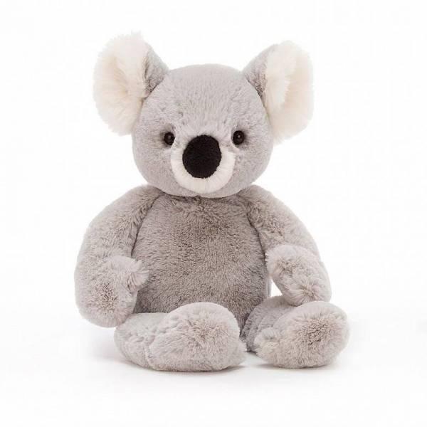 Stofftier Benji Koala medium - H34cm - grau