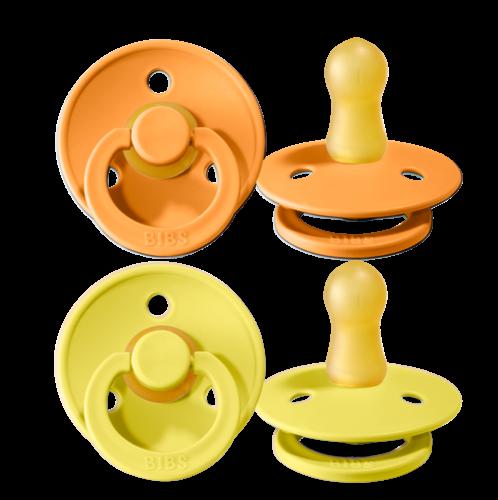 Schnuller 2er Pack- apricot & pineapple - Größe 2