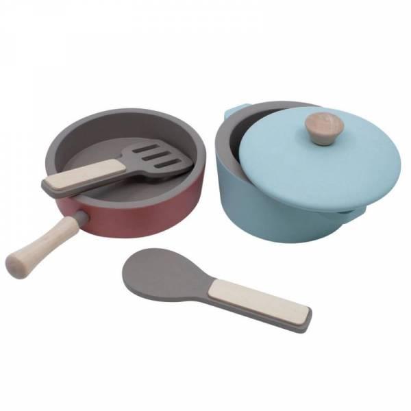 Küchengeräte-Set - warm grey