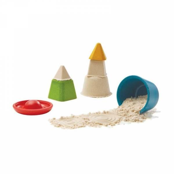 Formenset für Sandburgen