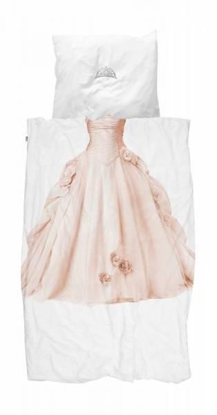 Kinder-Bettwäscheset Princess Pink 135 x 200 cm, inkl. 1 Kissenbezug 80 x 80 cm