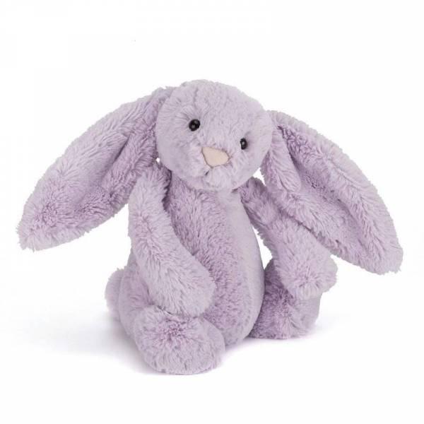 Stofftier Hase Bashful Bunny Small - H18cm - Hyazinth