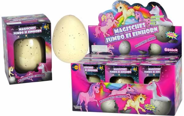 Magisches Jumbo Ei Einhorn