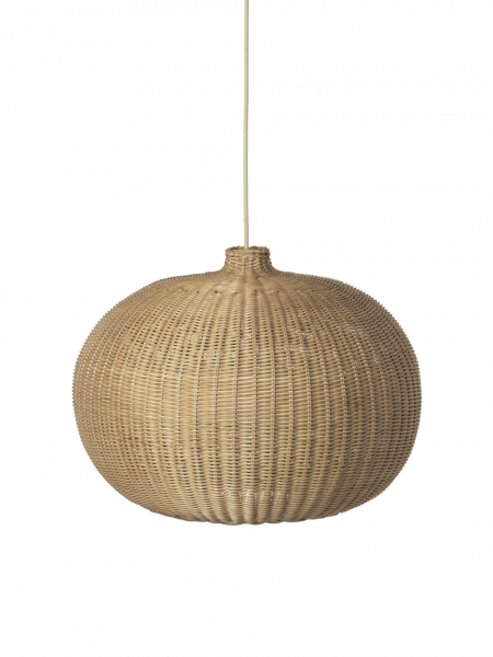 Hängeleuchte - Braided Belly Lampshade