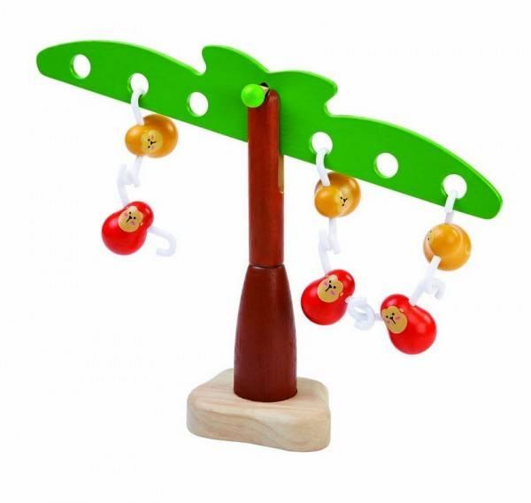 Balancierspiel Affen aus Holz