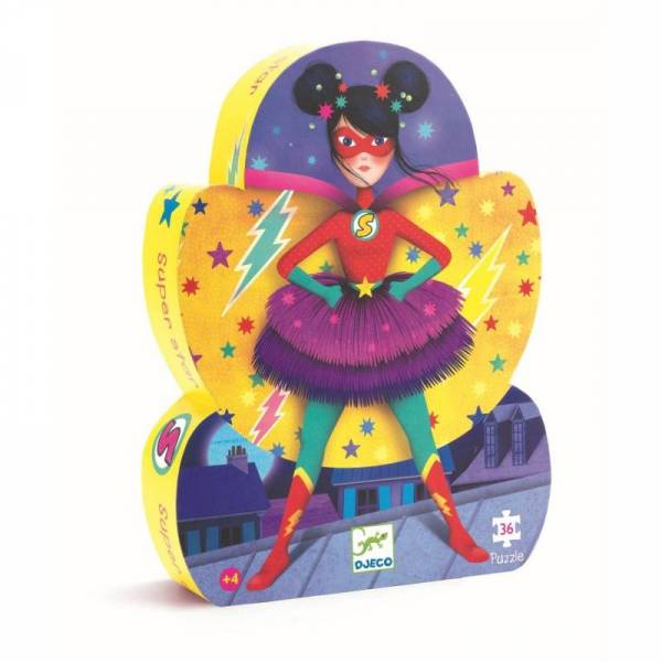 Silhouette Puzzle Superstar - 36 Teile