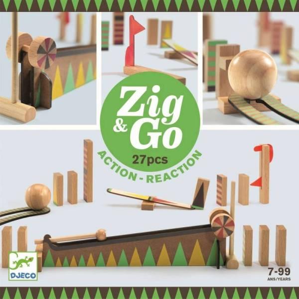 Zig & Go - Kettenreaktionsspiel, 27 Teile