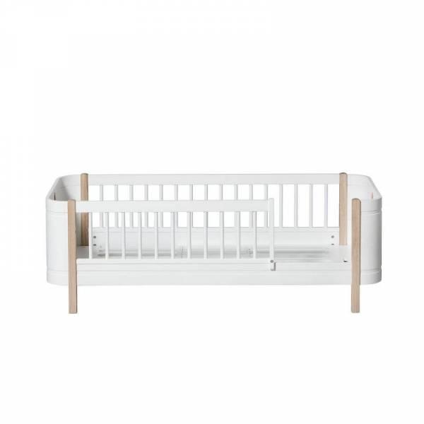 Mini+ Juniorbett, weiss/Eiche - neu