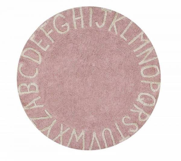Teppich, Round ABC Ø150cm nude