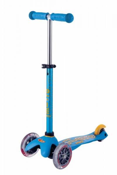 mini micro Deluxe Roller Scooter - ocean blau - 2-5 Jahre
