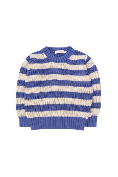 Strickpullover Stripes Sweater blue