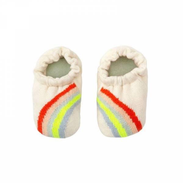 Regenbogen Baby-Schuhe - ab 0 Monate