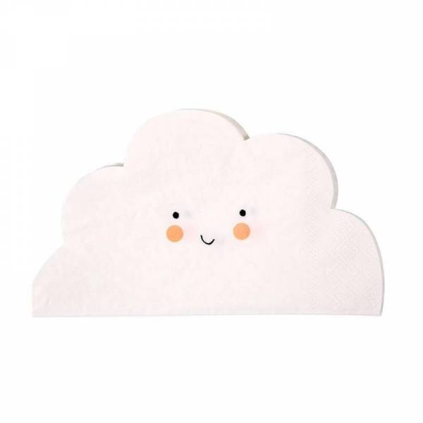 Happy Cloud Servietten