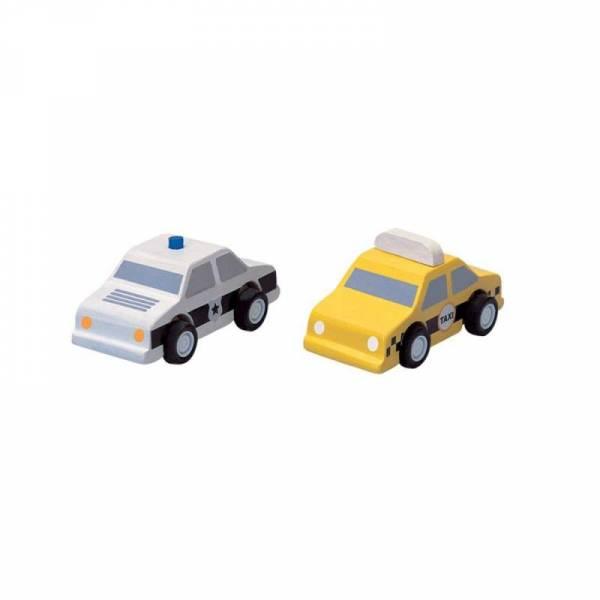 Taxi & Polizeiauto