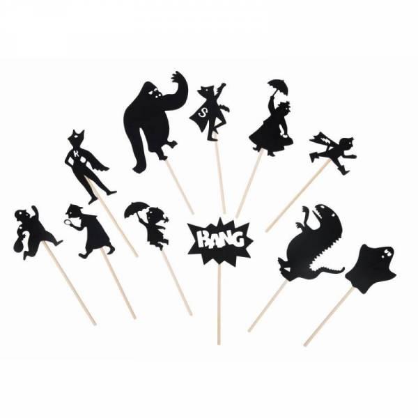 Schattenspiel Superhelden les histoires du soir