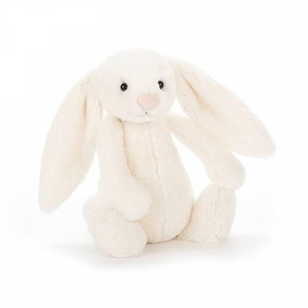 Stofftier Hase Bashful Bunny Small - H18cm - Cream