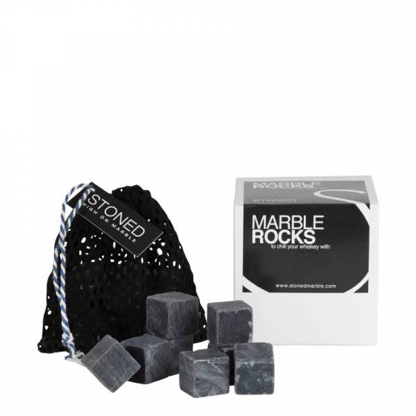 Black Marble Rocks