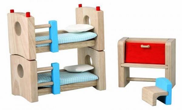 Puppenhausmöbel Kinderzimmer Neo