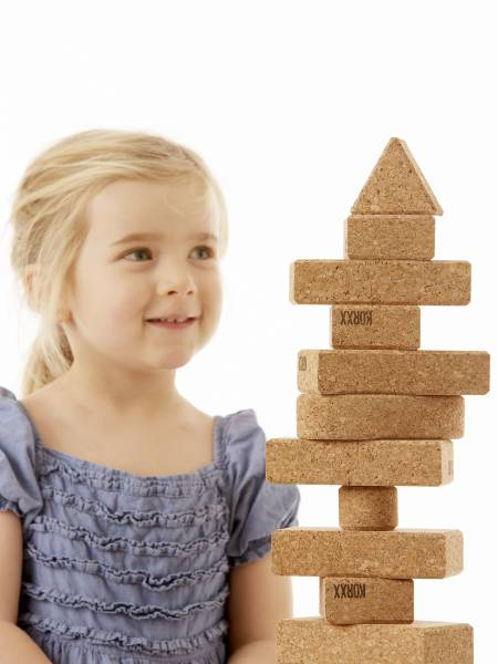 Form Starter Bausteine aus Kork