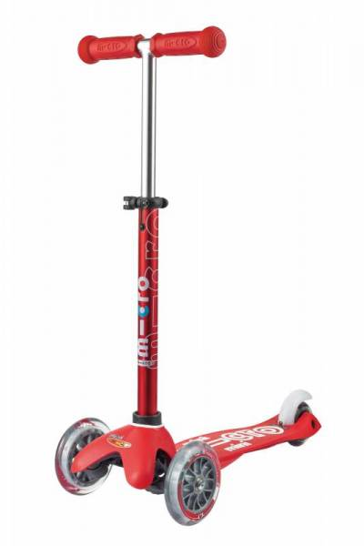 mini micro Deluxe Roller Scooter - rot - 2-5 Jahre