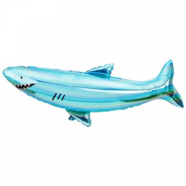 Helium-/Luftballon Hai - unbefüllt - 106cm