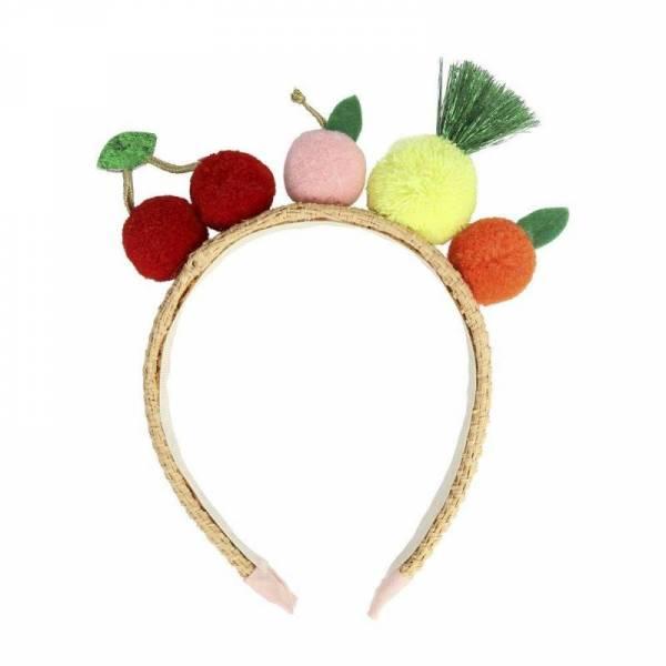 Kopfschmuck Fruity Pompom