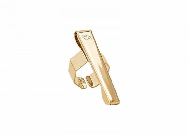 Sport Oktogonal Clip vergoldet