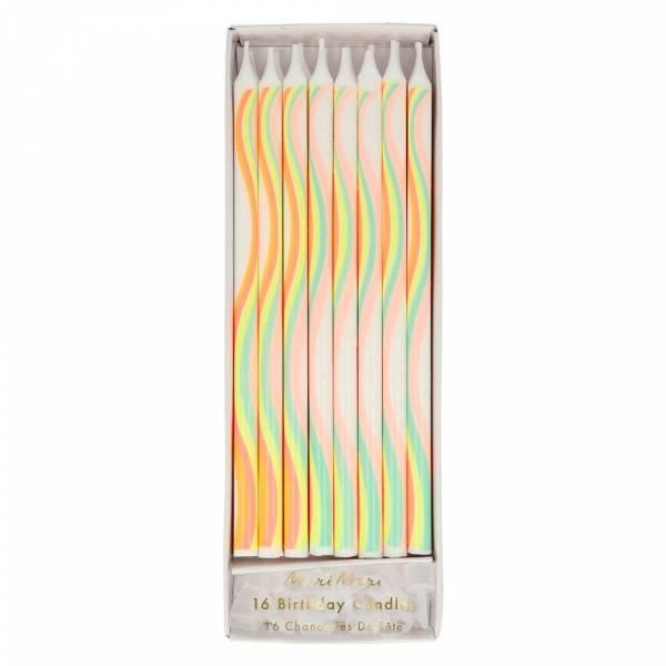 Rainbow Kerzen