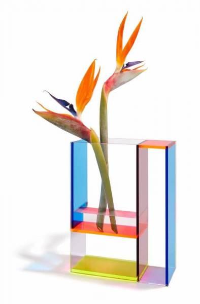 Neon Mondri Vase
