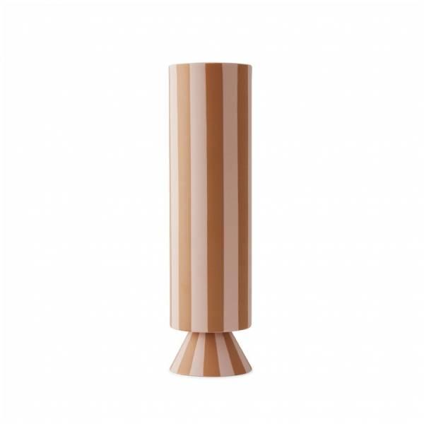 Toppu Vase High rose caramel