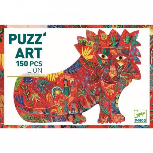Puzzle Löwe 150 Teile- Puzz'Art Lion - 6+