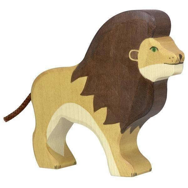 Löwe Holzfigur