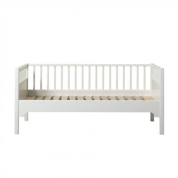 Seaside Junior Bettsofa 90x160 cm, weiß