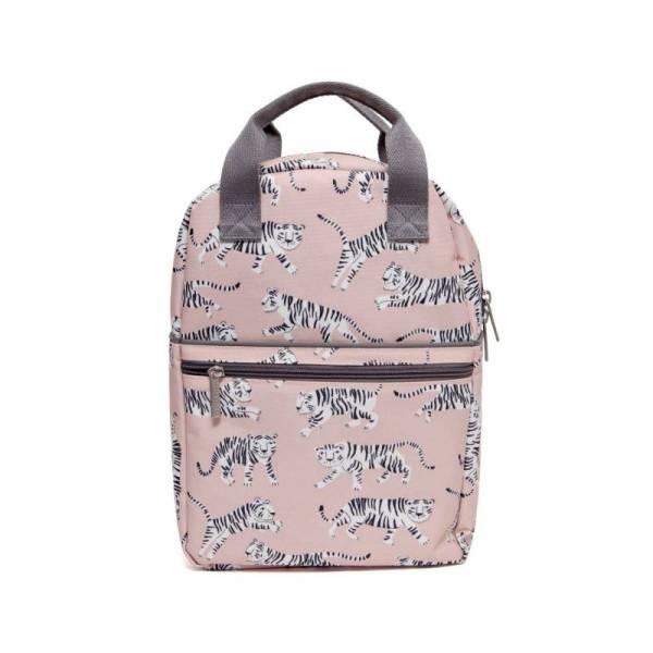 Rucksack groß für Kinder Weißer Tiger Rosa 11l