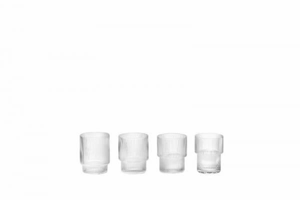 Ripple Glass (set of 4)