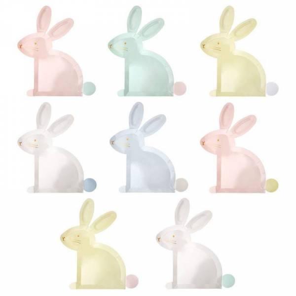 Hasenteller - Bunny Plates